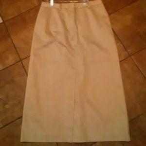 Women's NWOT Stretch Eddie Bauer Maxi Skirt